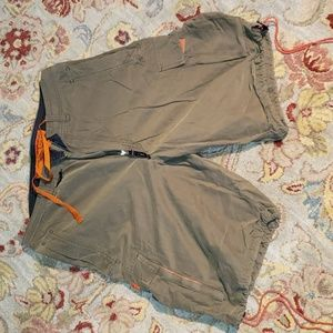 Abercrombie and Fitch paratrooper shorts M